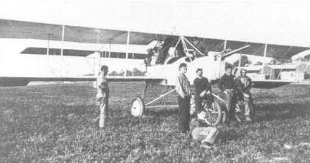 Страна франция год 1915 two seat bomber