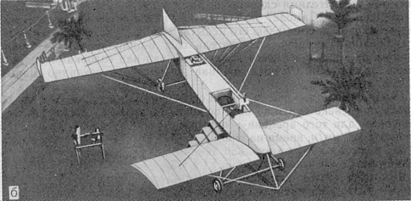 конструкций самолетов в